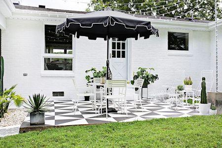 Renovar pisos de cemento con pintura