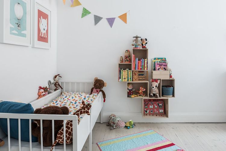 Sector infantil dentro del dormitorio
