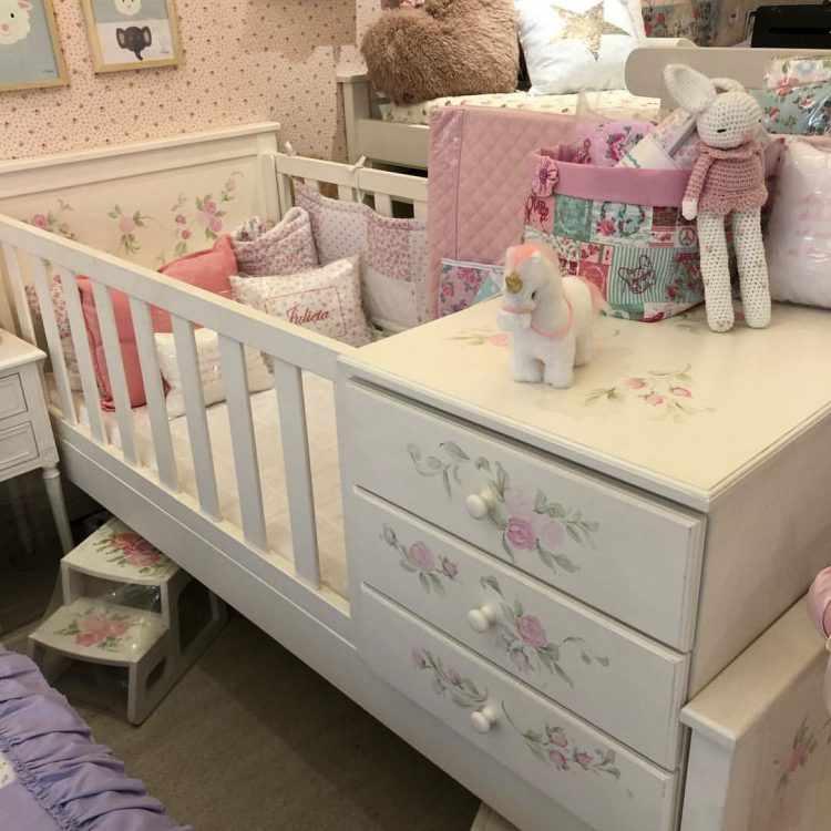 Antique Nouveau - Muebles y decoración para dormitorios de bebés y niñas 3