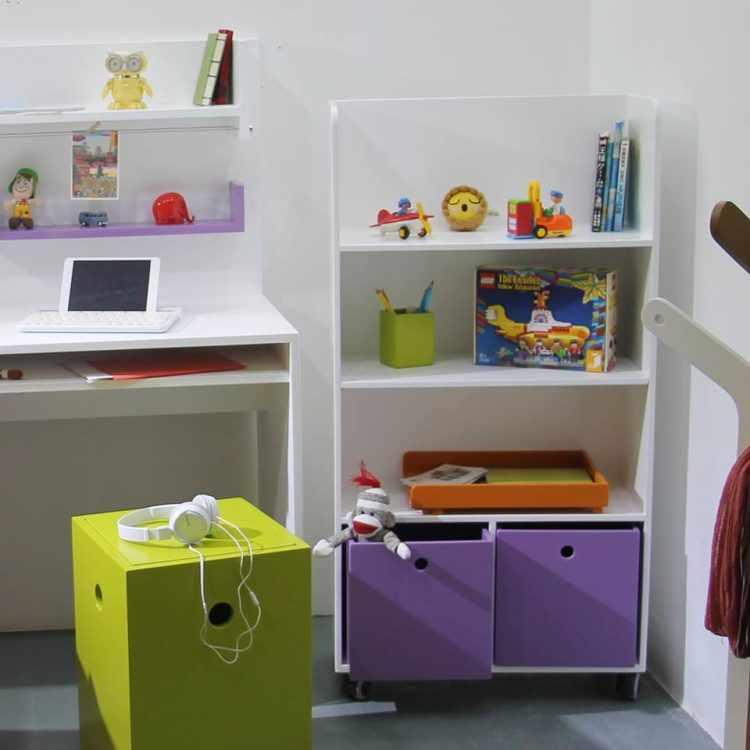 Gusanito Kids - Muebles laqueados y decoración para dormitorios de bebés, niños y adolescentes 5