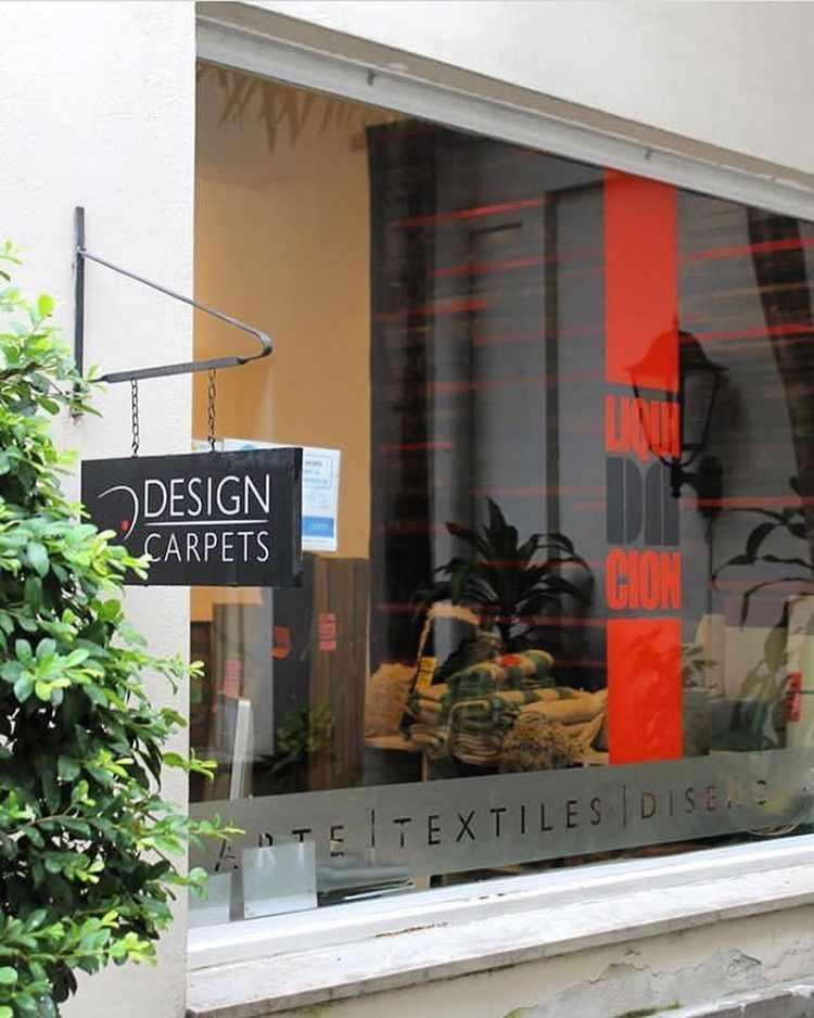 Local de Design Carpets en Rue des Artisans, calle Arenales, Buenos Aires