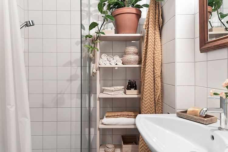 Baño con diseño simple