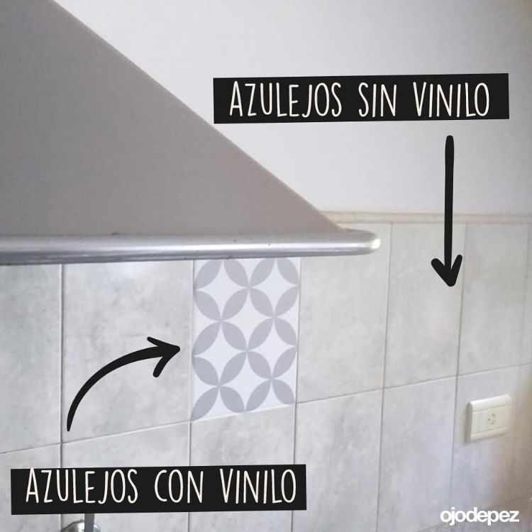 Ojodepez Vinilos decorativos - Azulejos autoadhesivos para cocinas 1