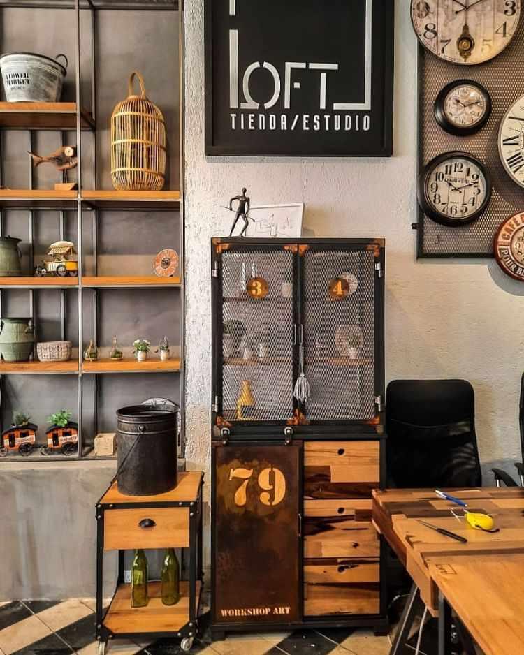 Loft Tienda/Estudio - Muebles estilo industrial en Córdoba 1