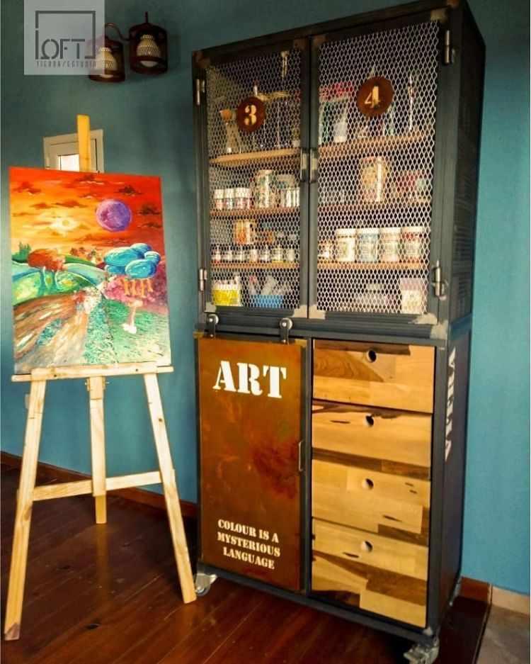 Loft Tienda/Estudio - Muebles estilo industrial en Córdoba 3