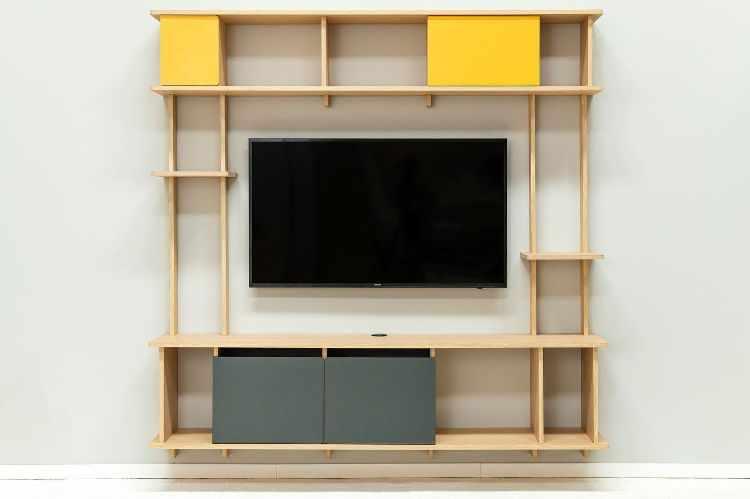 Madera Muebles - Muebles encastrables de fácil armado y guardado 1