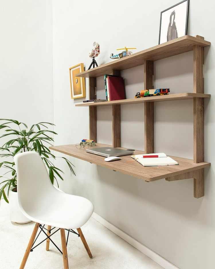Madera Muebles - Muebles encastrables de fácil armado y guardado 5