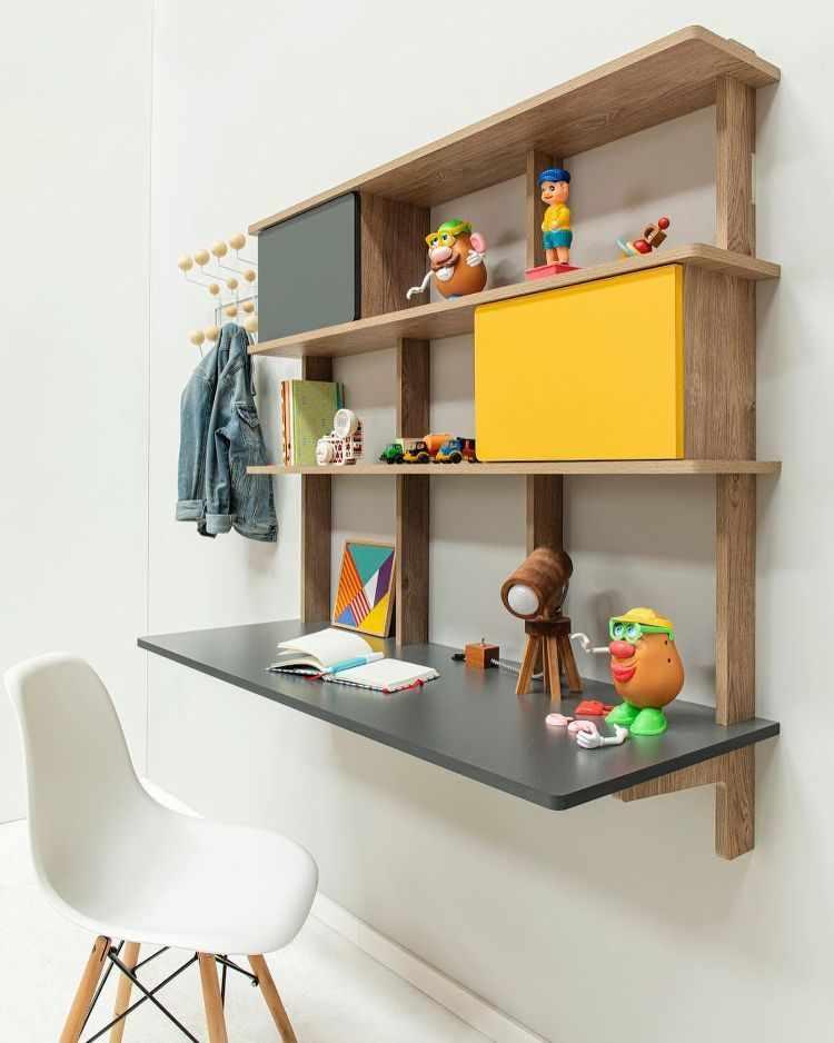 Madera Muebles - Muebles encastrables de fácil armado y guardado 6