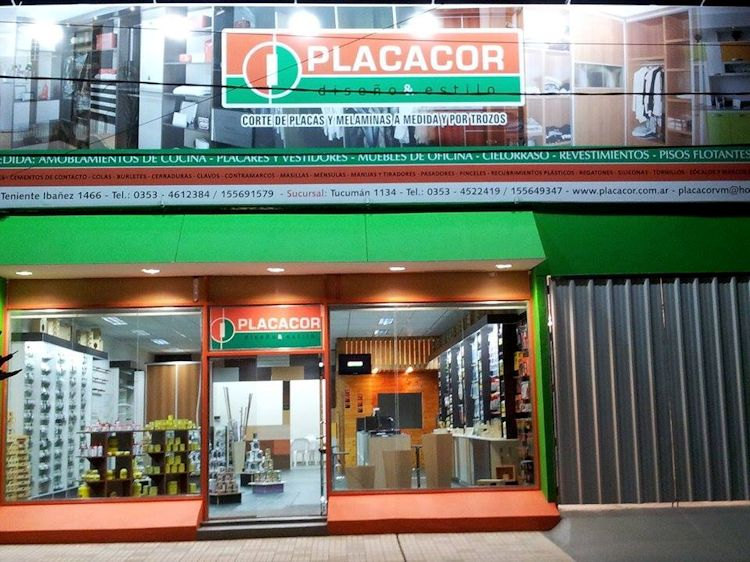 Placacor Diseño & Estilo - Placas, melaminas, mdf, fibrofácil en Villa María, Córdoba 1