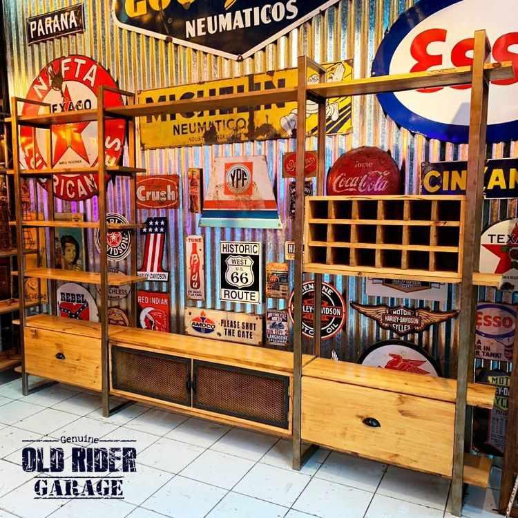 Old Rider Garage: muebles estilo industrial y vintage en San Isidro, Zona Norte 1