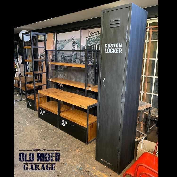 Old Rider Garage: muebles estilo industrial y vintage en San Isidro, Zona Norte 2