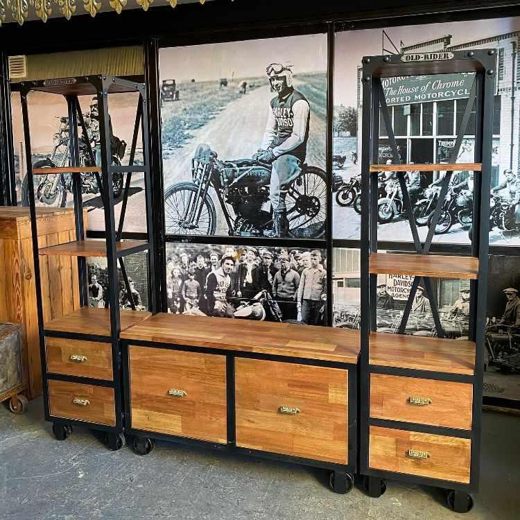 Old Rider Garage: muebles estilo industrial y vintage en San Isidro, Zona Norte 3