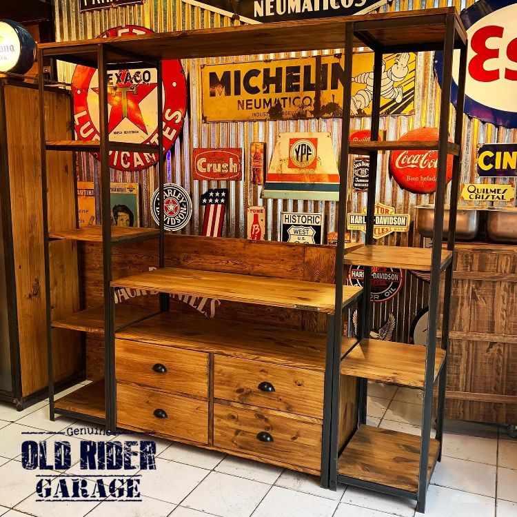 Old Rider Garage: muebles estilo industrial y vintage en San Isidro, Zona Norte 4