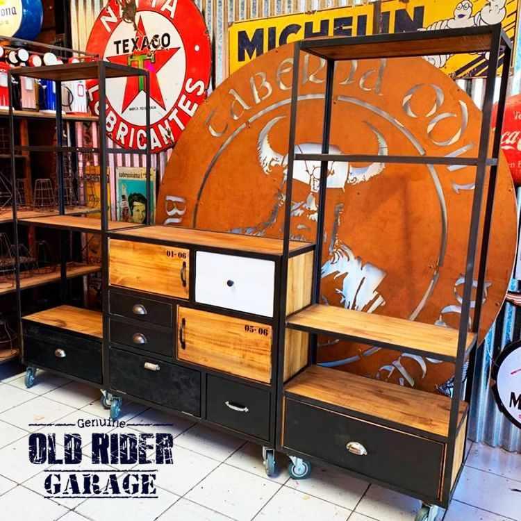 Old Rider Garage: muebles estilo industrial y vintage en San Isidro, Zona Norte 5