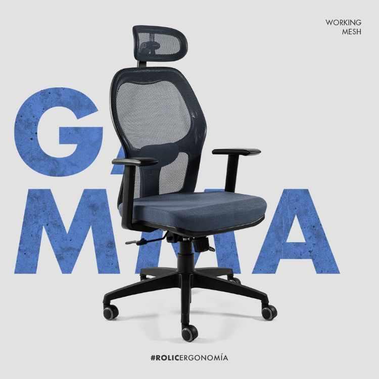 Rolic: sillas y sillones de oficina en Mataderos, Ciudad de Buenos Aires 1