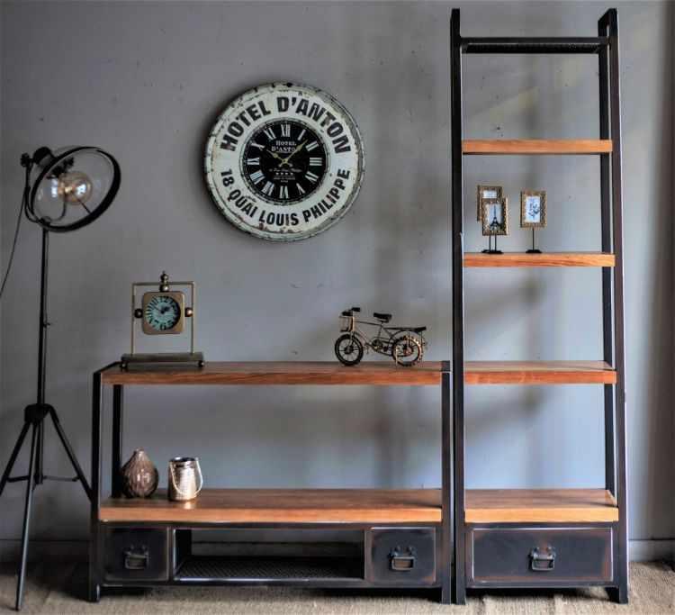 Vebaldi Muebles estilo industrial en Villa Crespo, CABA 7