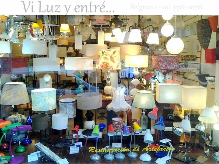 Ví Luz y entré: tienda de iluminación y lámparas en Belgrano, CABA 1