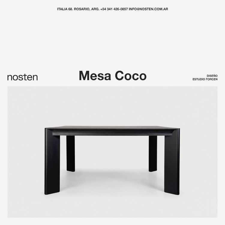 Nosten - Muebles de diseño contemporáneo en Rosario, Santa Fe 3