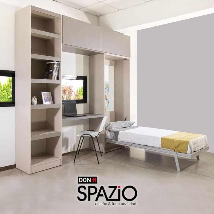 Don Spazio - Camas rebatibles y muebles para ahorrar espacio 2