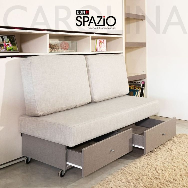 Don Spazio - Camas rebatibles y muebles para ahorrar espacio 4