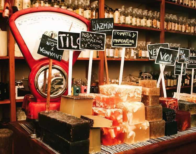 Época Bella en Palermo Soho, tienda especializada en jabones, velas, a3romaterapia