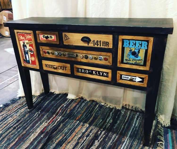 Ventuno Deco - Mayorista muebles estilo industrial, rústico, vintage, provenzal, clásico, etc. Fabricación e importación de muebles 12