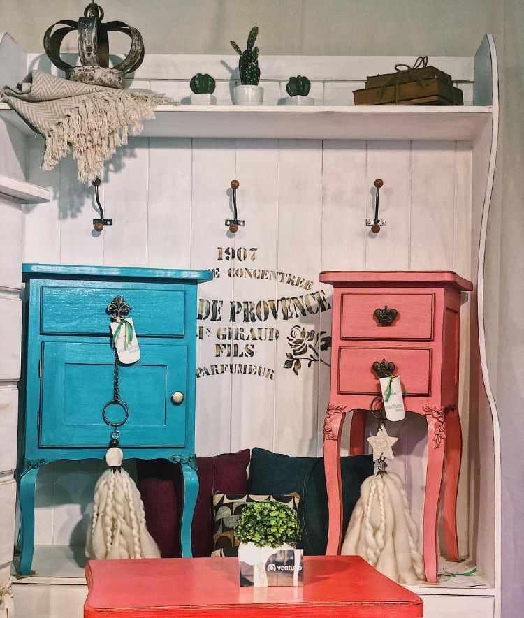 Ventuno Deco - Mayorista muebles estilo industrial, rústico, vintage, provenzal, clásico, etc. Fabricación e importación de muebles 9