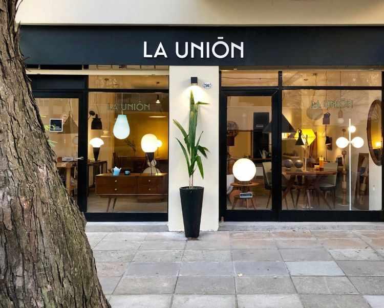Tienda La Unión en Núñez: accesorios, lámparas y muebles de estilo moderno, vintage, retro, americano 1