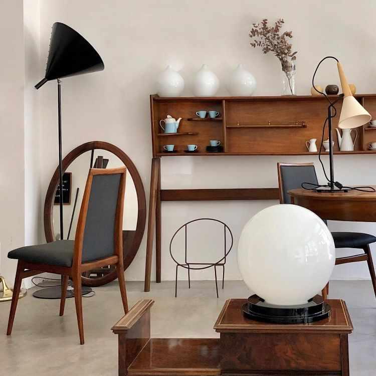 Tienda La Unión en Núñez: accesorios, lámparas y muebles de estilo moderno, vintage, retro, americano 2