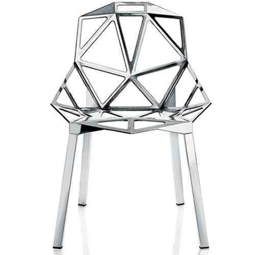 Chair One de aluminio