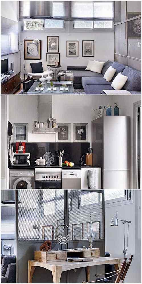 Monoambiente de 48 m2 cuidadosamente decorado