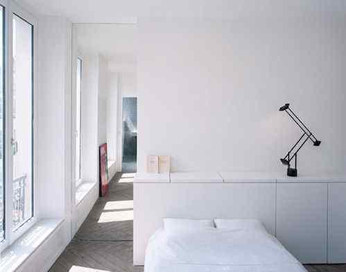 Departamento moderno y minimalista en Paris