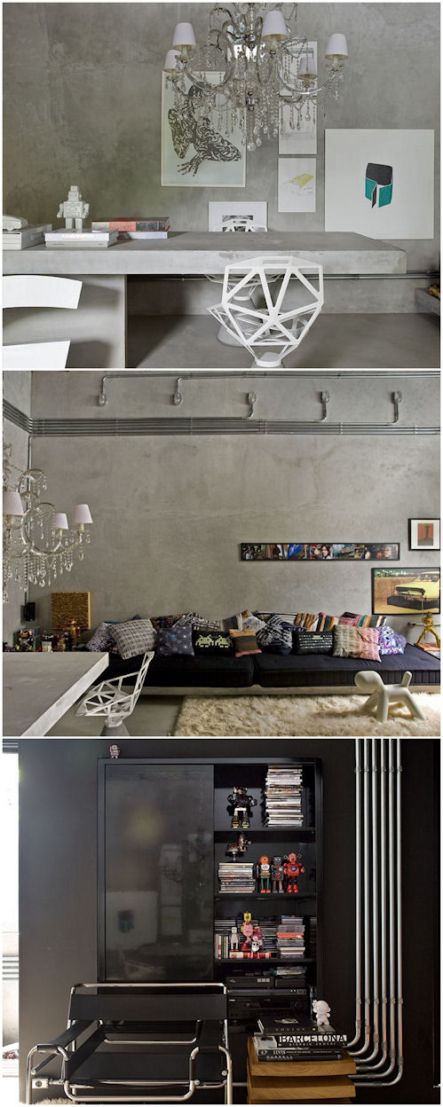 Casa estilo loft en Brasil