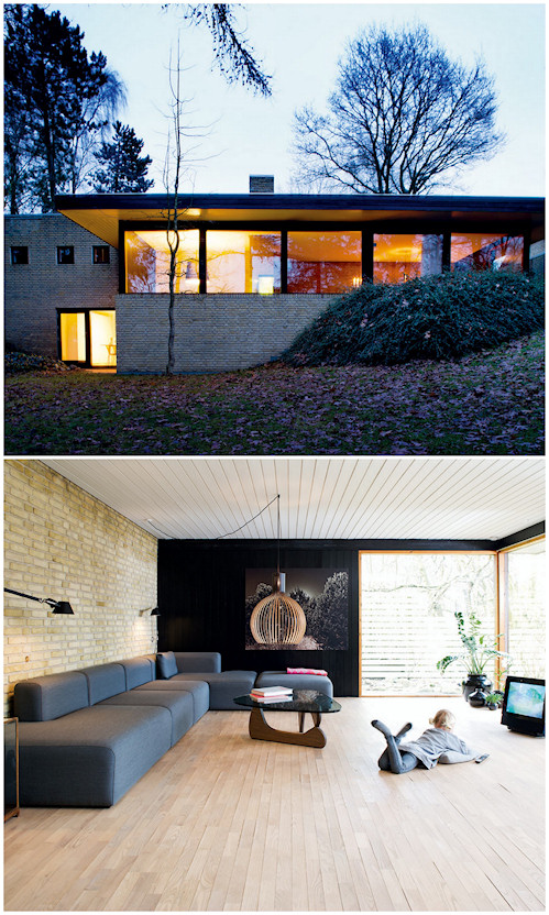 Renovación y decoración de una casa de los años 60