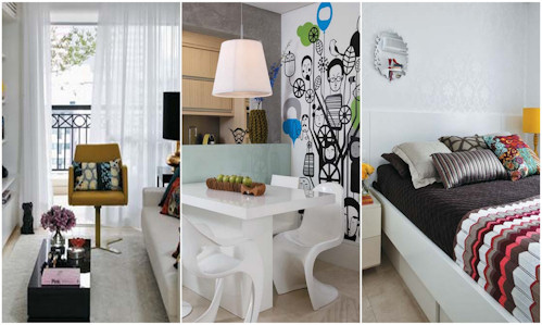 Dise o de interiores de departamentos mucho espacio de for Disenos de departamentos pequenos modernos