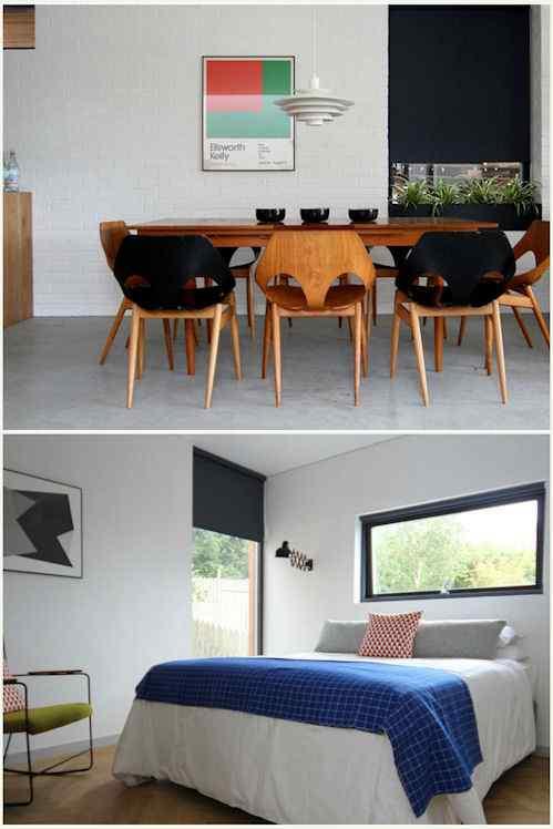 Interiores modernos por Kathryn Tyler