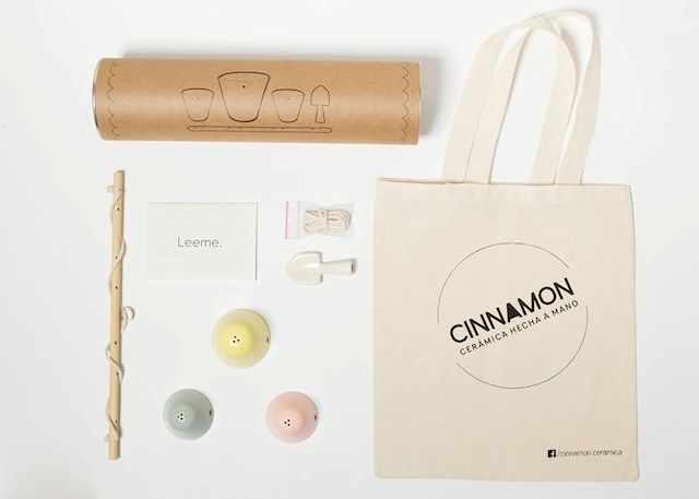 Cinnamon Objetos de cerámica artesanales 8