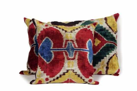 Desde Asia Almohadones y textiles 1