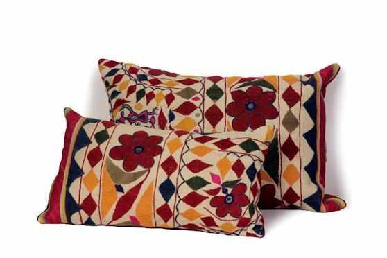 Desde Asia Almohadones y textiles 3
