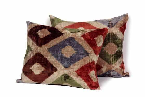 Desde Asia Almohadones y textiles 4