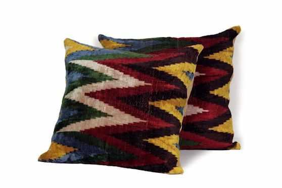Desde Asia Almohadones y textiles 6