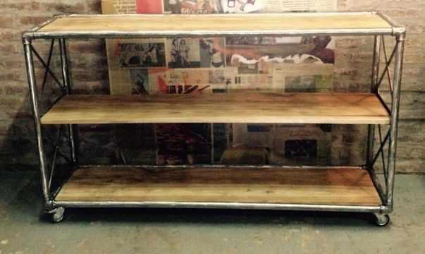 Estudio Cuervo Muebles estilo industrial 5