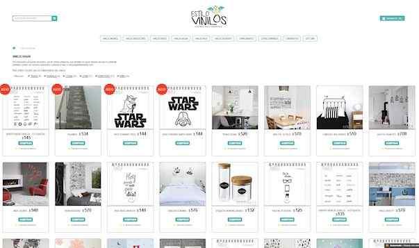 Venta online de Vinilos decorativos