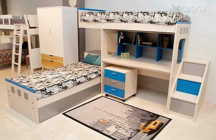 Crash Joven - Muebles para dormitorios juveniles 1