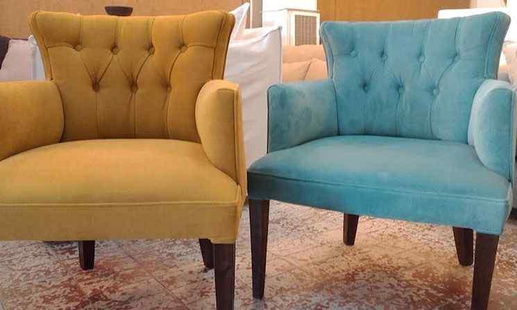 Loyola 561 f brica de sillones en villa crespo estilos deco - Sofas individuales modernos ...