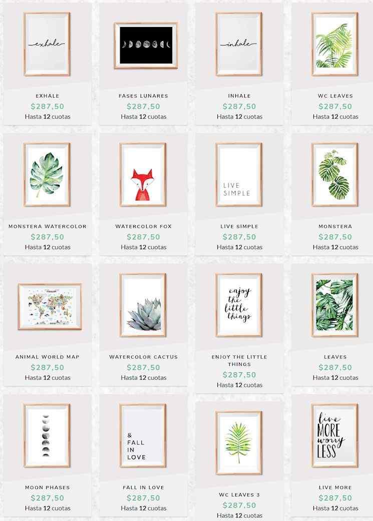 Simple Frames: tienda online de cuadros
