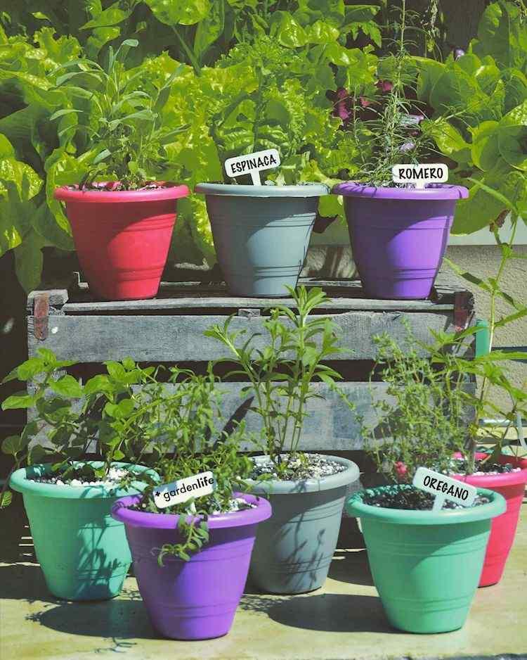 GardenLife: macetas de plástico