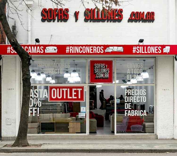 Outlet Sofasysillones.com.ar en Av. Belgrano 1877, Buenos Aires