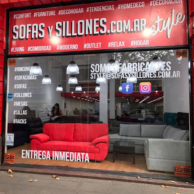 Sofasysillones.com.ar sucursal Style en Av. Belgrano 2034, Buenos Aires