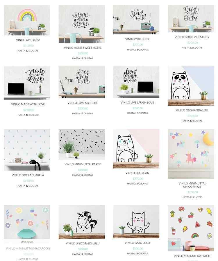 Tienda online de vinilos decorativos, cuadros, azulejos autoadhesivos, murales y empapelados 2